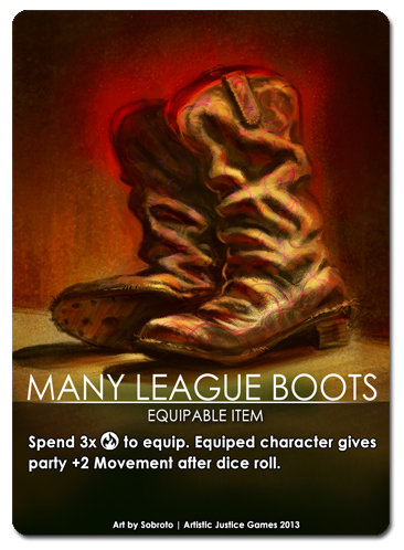 Item: Many League Boots