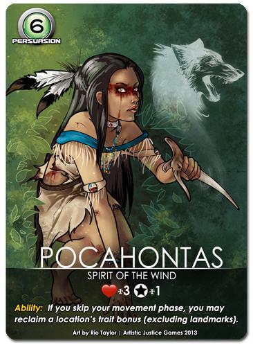 Character: Pocahontas