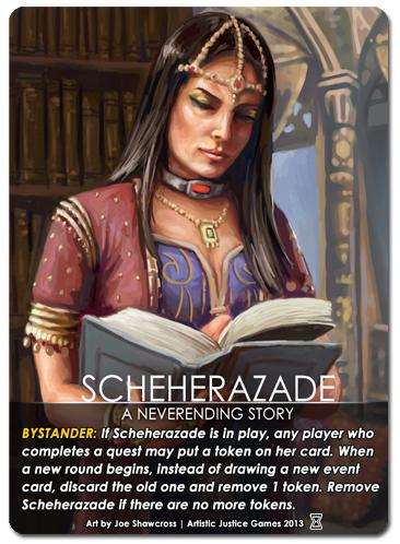 NPC: Scheherazade
