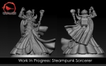 Steampunk Sorcerer WIP